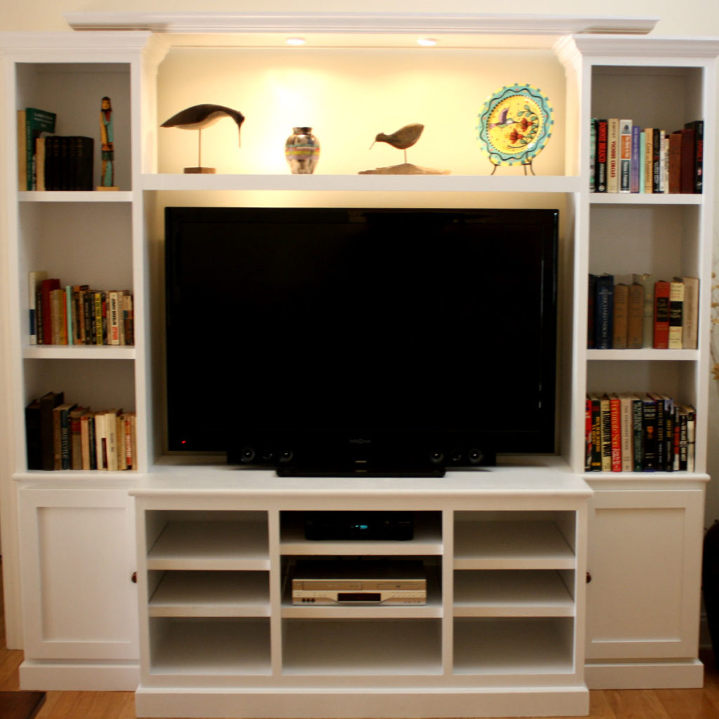 Built In TV Center